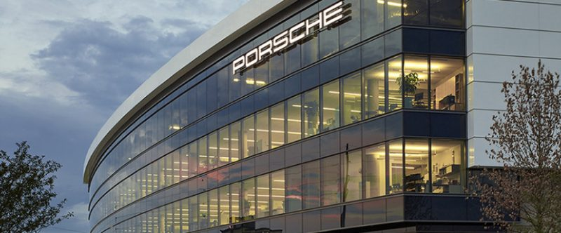 Porsche North America Headquarters, Hellmuth, Obata & Kassabaum