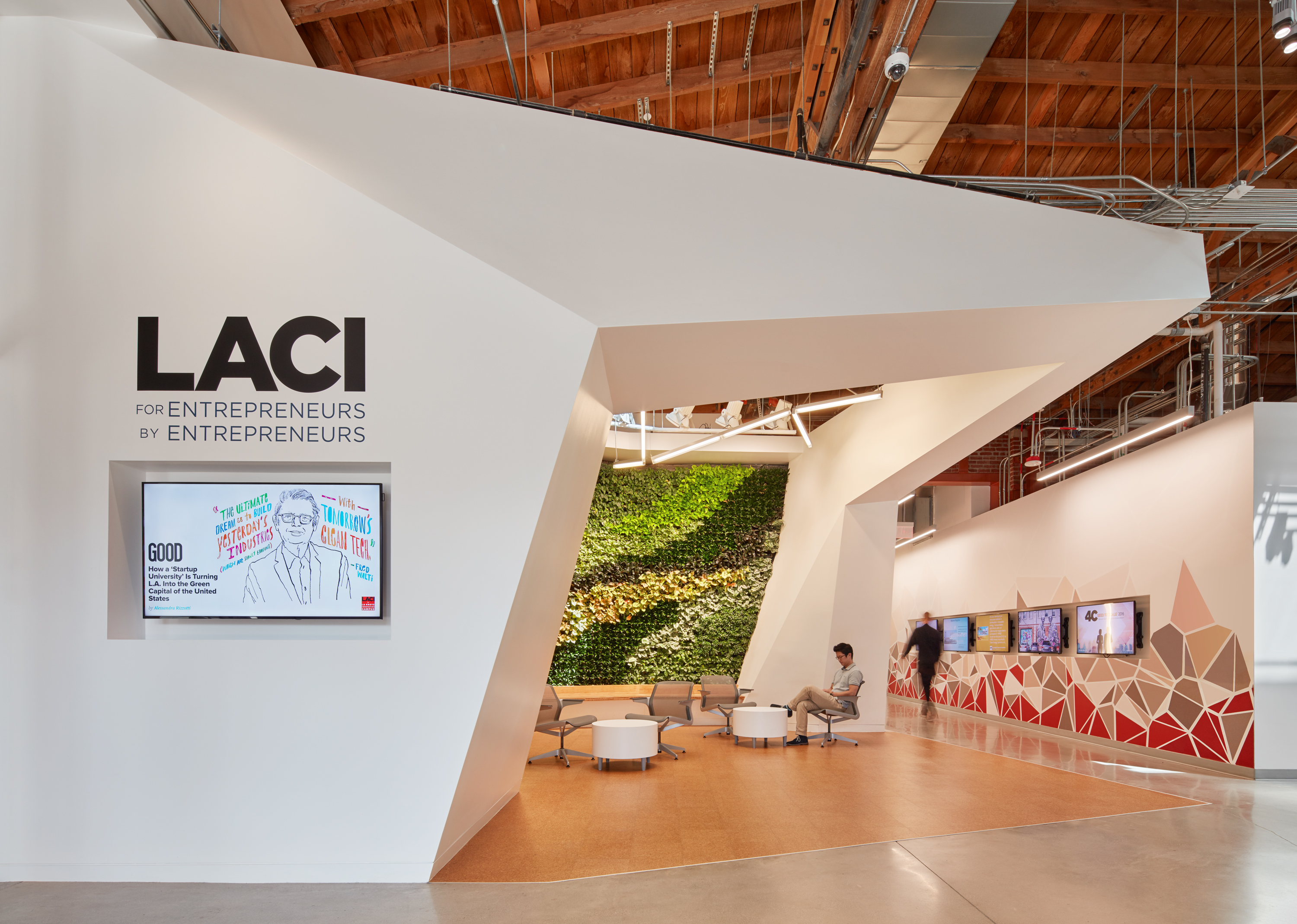 Laci La Kretz Innovation Campus Waveguide