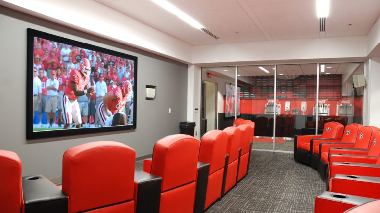 UNIVERSITY OF GEORGIA, BUTTS-MEHRE HERITAGE HALL, FOOTBALL COACHING FACILITY